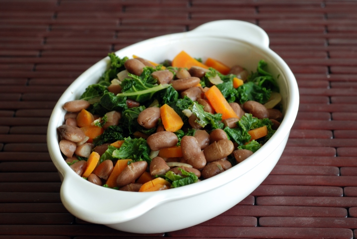 Southern Beans and Greens Saute