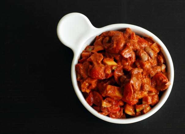 High Raw Vegetable Chili