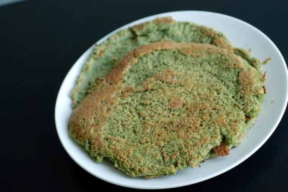 Savoury Mung Bean & Kale Crêpes