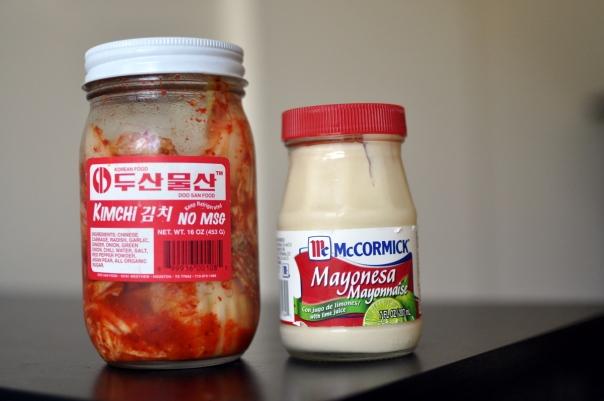 Don San Foods vegan Kimchi