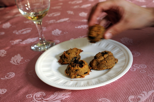 Peanut Butter & Chocolate Chickpea Cookies