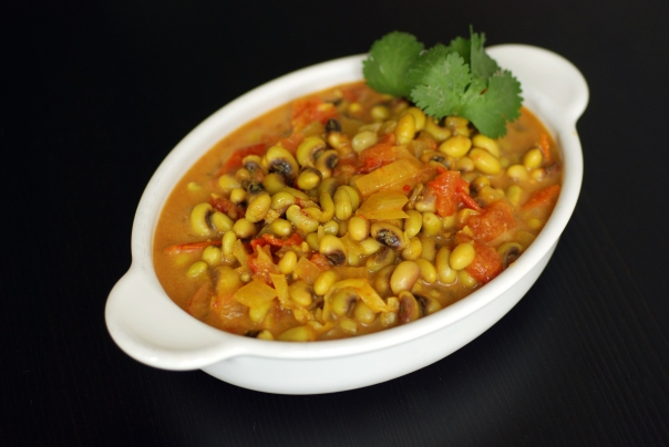 Goan-Inspired Black Eyed Pea Curry with Coconut Milk