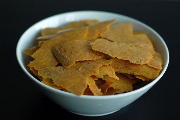Raw Corn Chips
