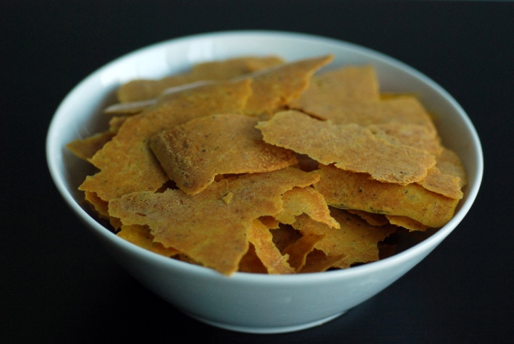 Raw Corn Chips