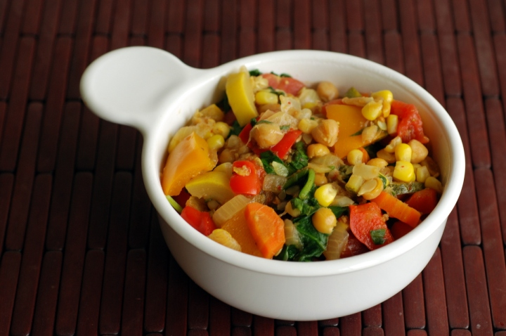 Moosewood Summer Vegetable Curry
