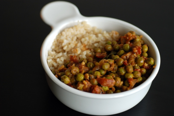Green Peas Curry (Mattar Masala)