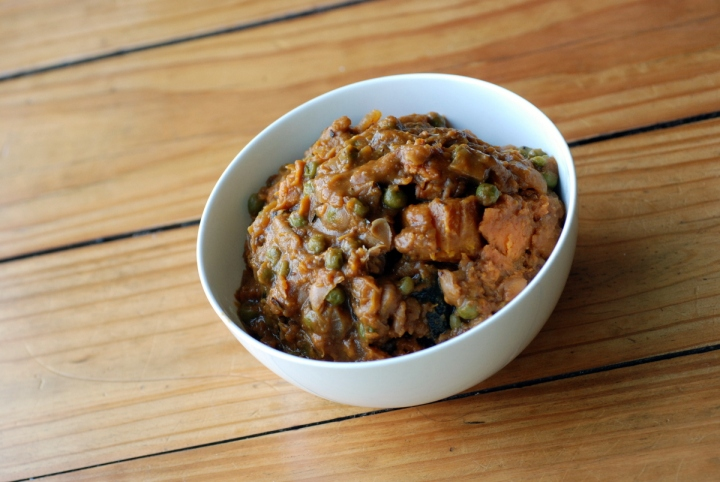 Thai Sweet Potato and Winter Squash Stew