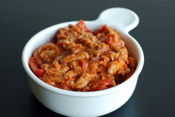 Bean Goulash with Soy Curls