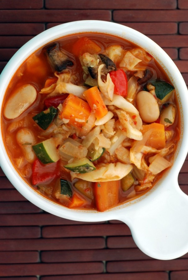 Roasted Vegetable Ribollita
