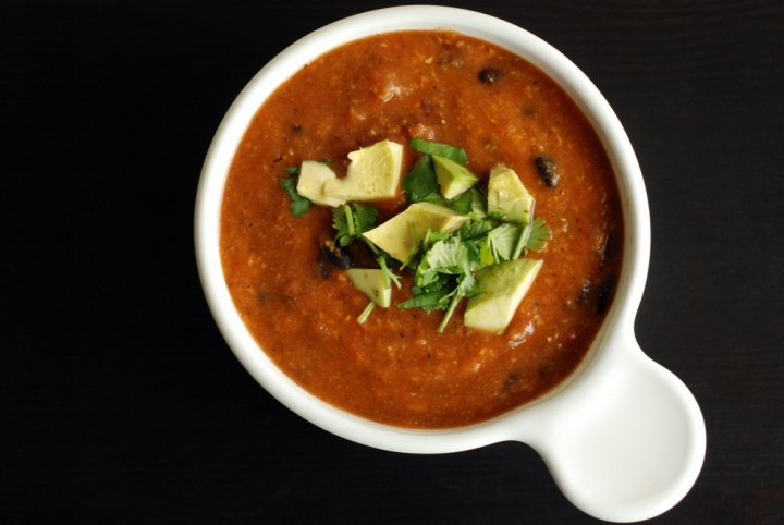 South of the Border Tortilla Soup