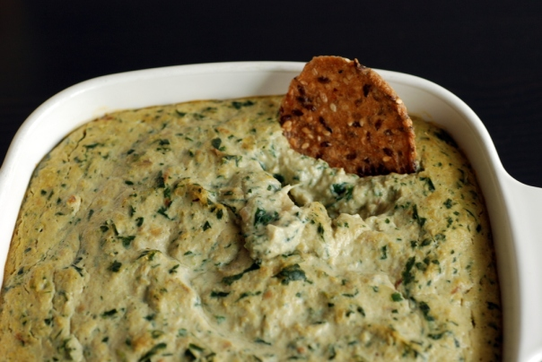 Warm Spinach and Artichoke Dip