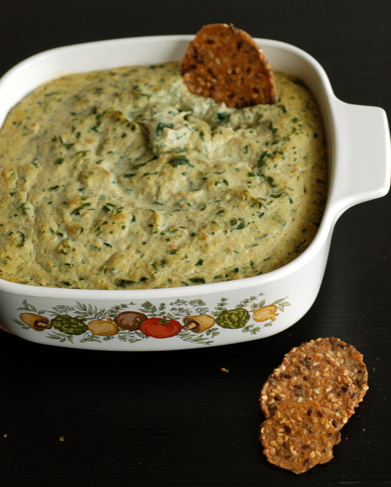 Warm Spinach and Artichoke Dip | the taste space