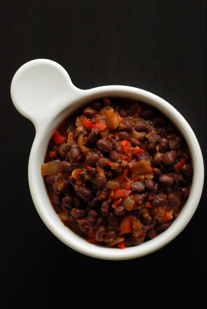 Cuban Beer-Infused Black Beans