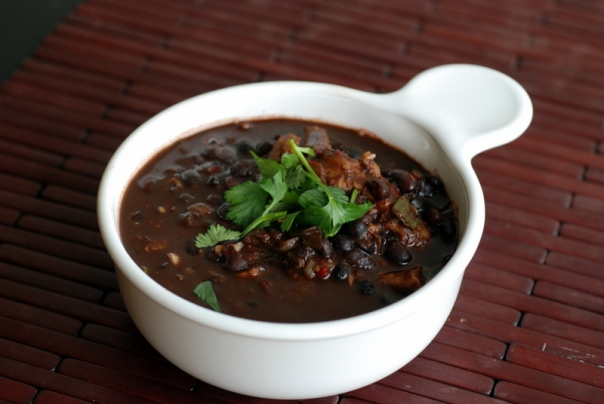 Brazilian Black Bean Soup Afrovegan
