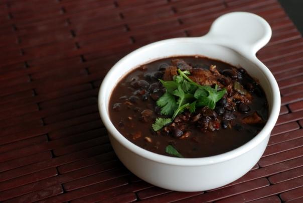 Brazilian Black Bean Soup Afrovegan