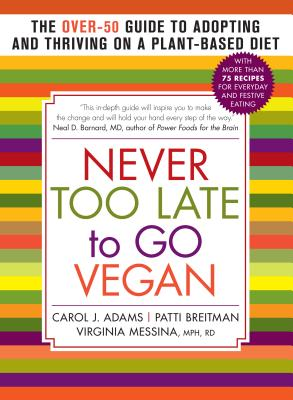 never too late to go vegan cover