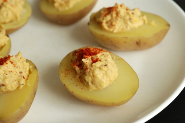 "Vegan Deviled ""Eggs"""