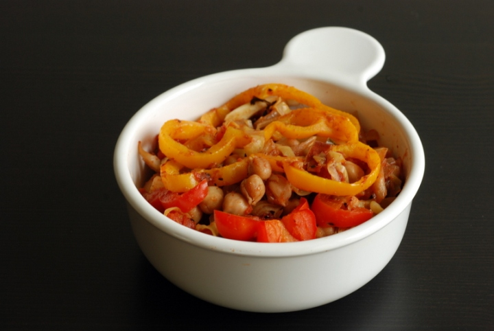 Tunisian Chickpea & Cabbage Shakshouka
