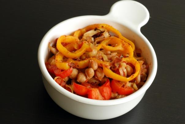 Tunisian Chickpea & Cabbage Shakchouska