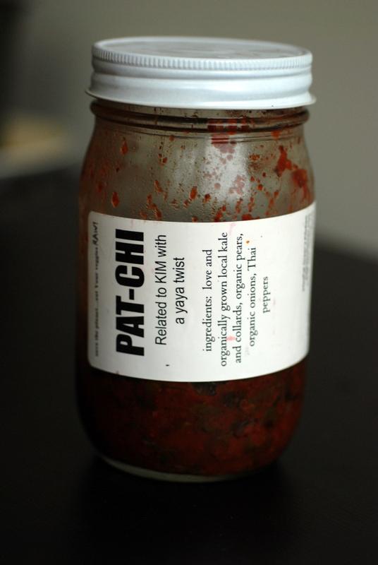 Pat-Chi - Pat Greer's Kitchen Kimchi