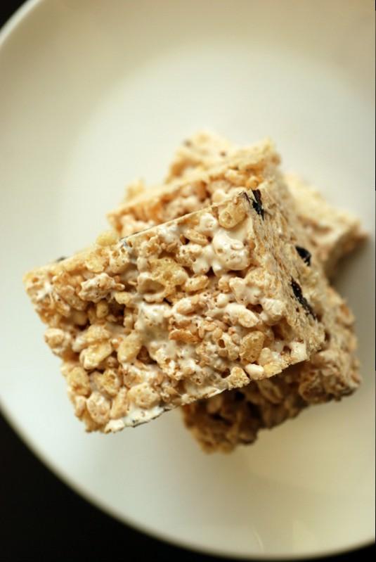 Sweet Sesame Crisp Rice Treats