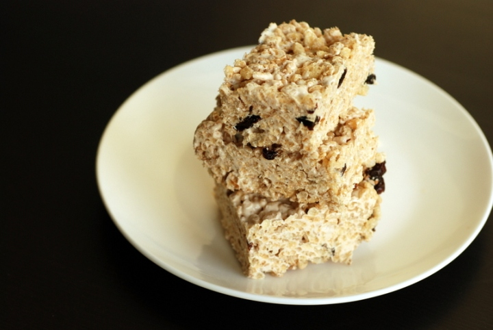 Sweet Sesame Rice Crispy Treats