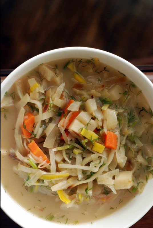 Caramelized Cabbage Soup