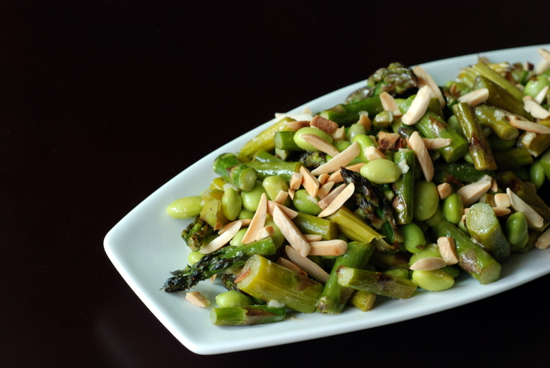 Asparagus and Edamame Salad with Lime-Miso Dressing | the ...