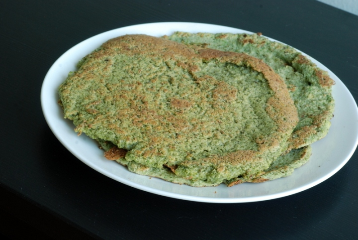 Mung Bean & Kale Crepes
