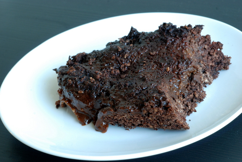Breakfast Chocolate Mocha Pudding Cake | the taste space