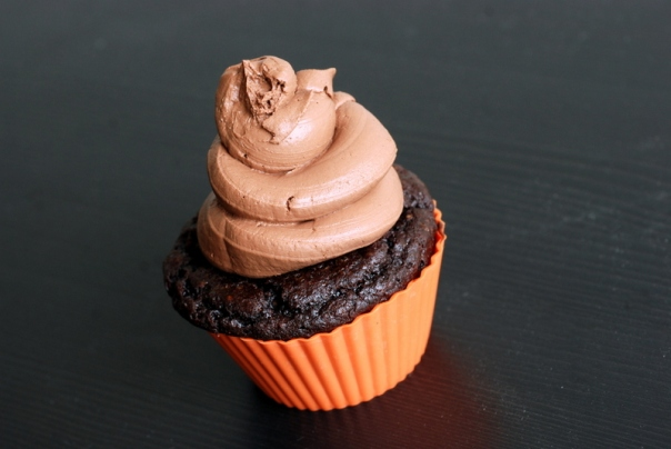 Chocolate Chickpea Flour Cupcakes