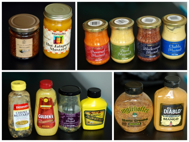 Vegan Mustard Tasting Party