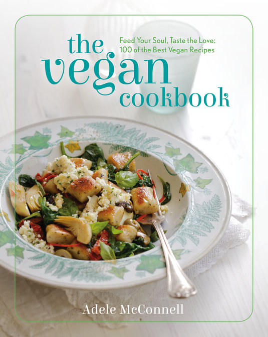 The Vegan Cookbook cover by Adele McConnell