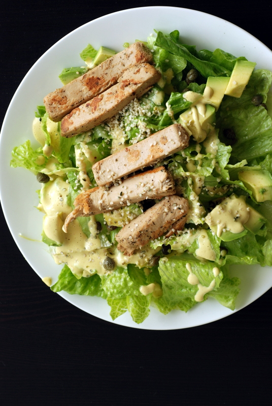 Eccentric Caesar Salad + Straight From the Earth review +giveaway