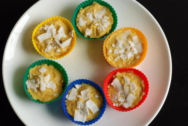 Raw Mango Coconut Cups