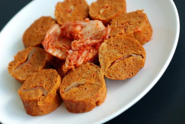 Kimchi-Stuffed Sausages & Vegan Finger Foods Giveaway