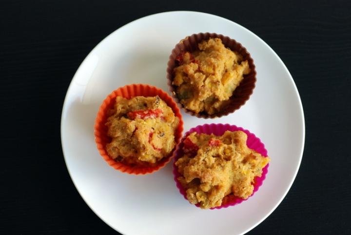 Fiesta Cornbread Muffins