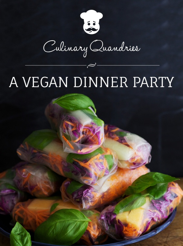 Vegan Dinner Party cookbookVegan Dinner Party cookbook
