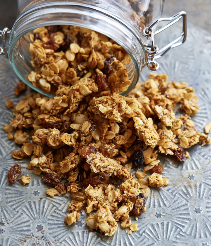 Curry Cashew Savory Granola from OATrageous Oats