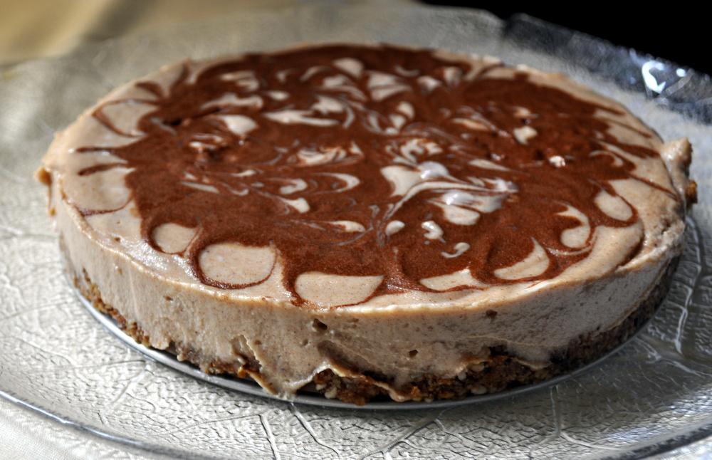 Raw Cinnamon Spice Ice Cream Cake | the taste space