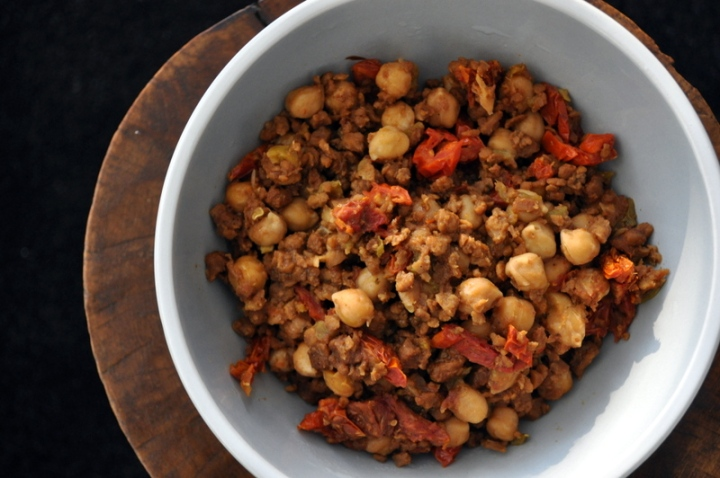avoury Chickpea Crumbles