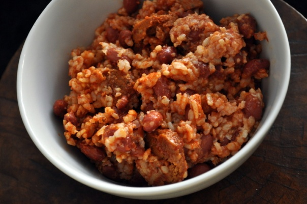 Quick & Easy Cajun Red Beans and Rice
