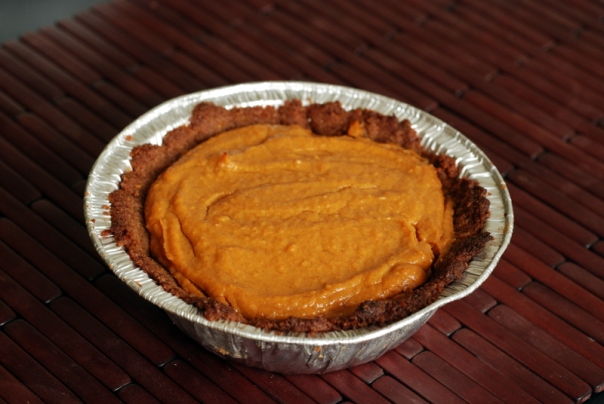 Abby's Vegan Pumpkin Pie with a Pecan-Oat Crust