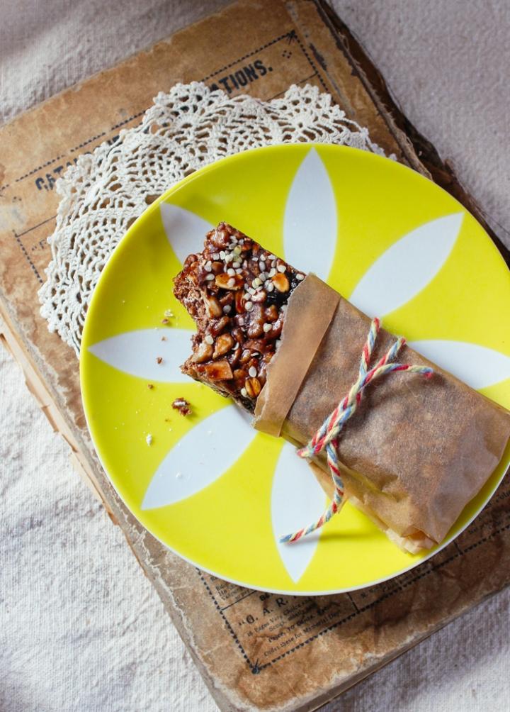 Chocolate Cherry Hemp Bars & YumUniverse Cookbook Giveaway