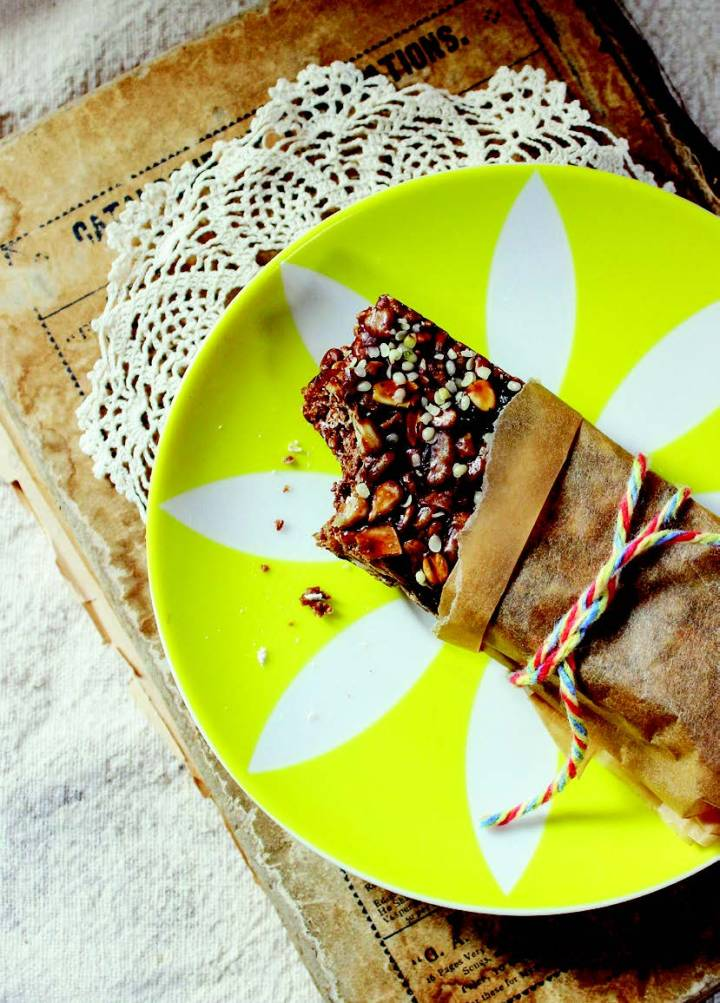Chocolate Cherry Hemp Bars & YumUniverse Cookbook Giveaway