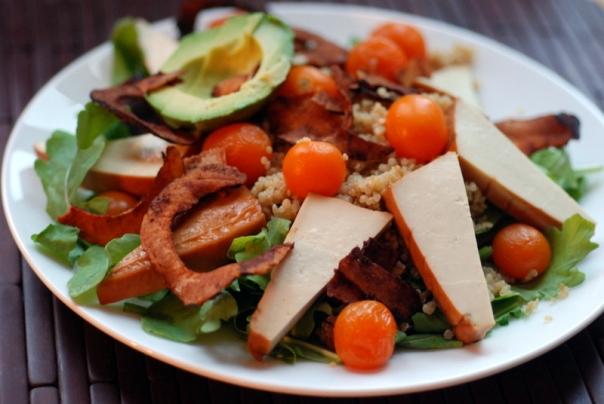 Cali-Coco BLT Quinoa Salad