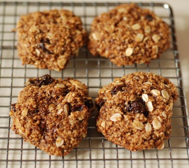 Vegan Lactation Cookies (Gluten-Free)