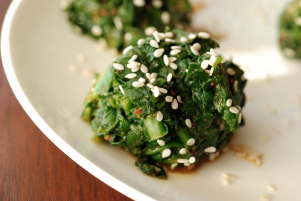 Sesame Wow Greens from Vegan Eats World