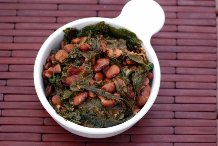 Cajun Beans and Greens