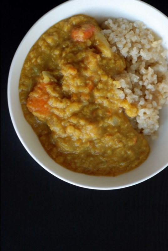 Sweet Potato and Coconut Curry